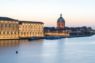 France, Haute-Garonne, Toulouse, Garonne river, Museum of Medical and Chapelle Saint-Joseph de la Grave in the evening - TAMF01068