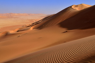 Oman, Dhofar, sand dunes in the Rub al Khali desert - ESF01629