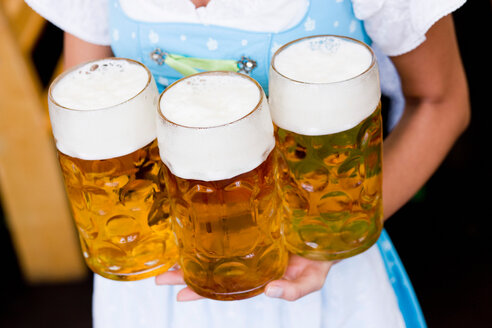 Young Woman With Glasses Beer Close Up - CUF00262