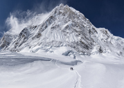 Nepal, Solo Khumbu, Everest, Mountaineers at Western Cwm - ALRF01138