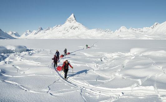 Greenland, Schweizerland Alps, Kulusuk, Tasiilaq, ski tourers - ALRF01217