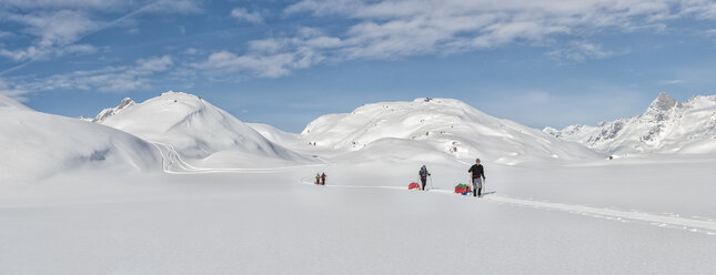 Greenland, Schweizerland Alps, Kulusuk, Tasiilaq, ski tourers - ALRF01223