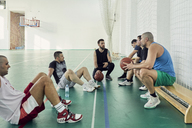 Basketball players during break - ZEDF01366