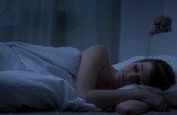 Young woman sleeping - CUF01492