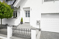 Germany, Cologne, white new built one-family house - PDF01630