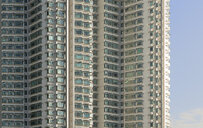 China, Hong Kong, Lantau Island, high-rise residential building - MKFF00368