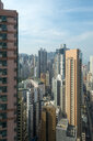 China, Hong Kong, Sheung Wang, high-rise buildings - MKFF00377