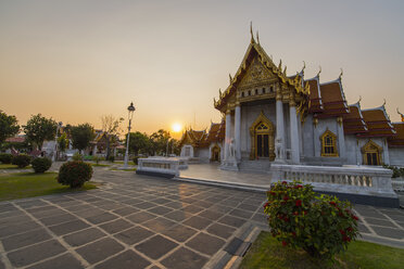 Wat Benchamabophit, the marble temple, Bangkok, Thailand - CUF02387