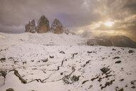 Tre Cime di Lavaredo area, South Tyrol, Dolomite Alps, Italy - CUF03864