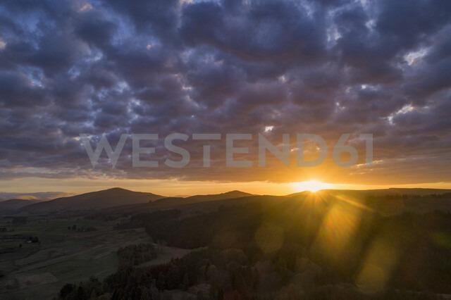 United Kingdom Scotland, landscape at sunset - MJOF01500