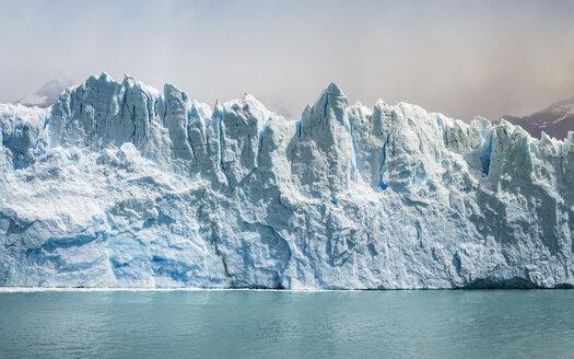 Storm cloud over Perito Moreno Glacier in Los Glaciares National Park, Patagonia, Chile - CUF08013
