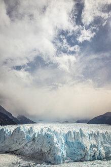 Storm clouds over Perito Moreno Glacier, Los Glaciares National Park, Patagonia, Chile - CUF08019