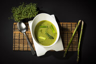 Asparagus cream soup with green asparagus - MAEF12592
