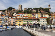 France, Cannes, Old Town, Le Suquet, harbour - ABOF00352