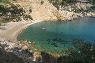 Spain, Balearic Islands, Victoria peninsula, Alcudia, Platja des Coll Baix beach and bay - PCF00364