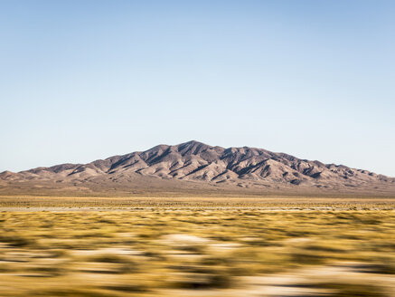Blurred motion landscape in Death Valley National Park, California, USA - CUF11576