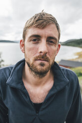 Portrait of a man travelling the Lofoten - GUSF00906