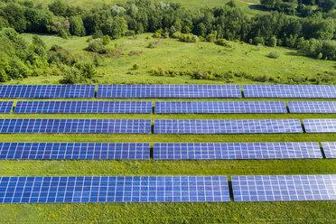 Germany, Baden-Wuerttemberg, Schurwald, solar plant - STSF01572