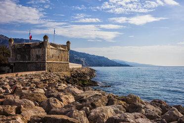 France,  Provence-Alpes-Cote d'Azur, Menton, Bastion Jean Cocteau Museum - ABOF00356