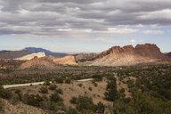 Burr Trail Road in Grand-Escalante National Monument, Utah, USA - ISF05249