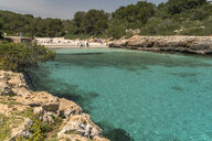 Spain, Balearic Islands, Mallorca, Felanitx, Cala Sa Nau - PCF00369