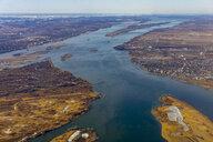 Canada, Quebec, Aerial view of the region - LOMF00717