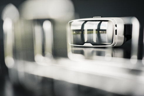 Close-up of VR glasses - JOSF02244
