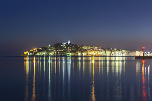 Croatia, Primosten at night - FPF00155
