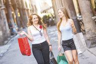 Girlfriends on shopping spree in town - CUF16562