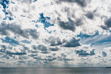 Germany, Ruegen, Baltic sea under cloudy sky - MJF02278