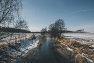 Sweden, Sodermanland, remote landscape in winter - GUSF00912