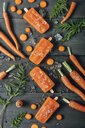 Carrot ice popsicles - RTBF01287