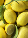 Lemons, full frame, close-up - CUF20380