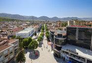 Albania, Korca, pedestrian area - SIEF07783