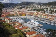 France, Provence-Alpes-Cote d'Azur, Nice, Port Lympia - ABOF00374