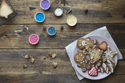 Decorated Gingerbread Cookies - SKCF00482