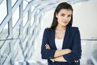 Portrait of confident businesswoman - BSZF00514