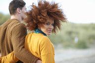 Portrait of loving multi-ethnic couple - CUF23532