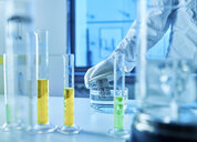 Chemist working in chemical laboratory - CVF00719