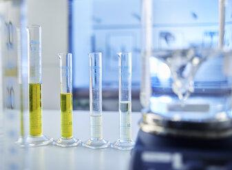 Test tubes in laboratory - CVF00722