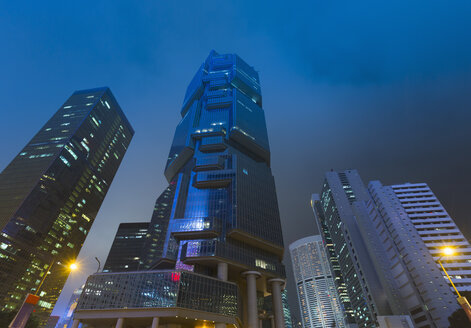 Central Hong Kong financial district, Hong Kong, China - CUF28321