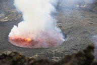 Africa, Democratic Republic of Congo, Virunga National Park, Nyiragongo volcano - REAF00299