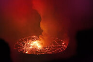 Africa, Democratic Republic of Congo, Virunga National Park, Nyiragongo volcano - REAF00308