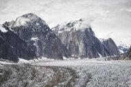 USA, Alaska, Denali National Park, glacier tongue - CVF00843