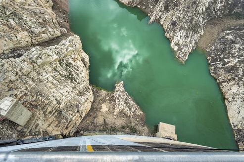 France, Provence-Alpes-Cote d'Azur, Beaurecueil, Bimont Dam - FRF00681