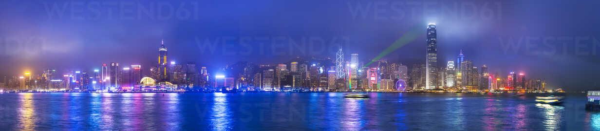 Central Hong Kong skyline and Victoria harbor, Hong Kong, China - ISF10004 - Henglein and Steets/Westend61