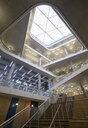 Modern office atrium with skylight - CAIF20873