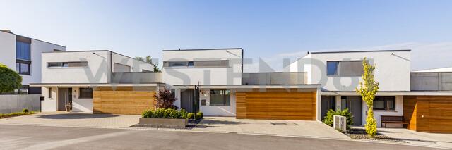 Germany, Blaustein, energy saving one-family houses - WDF04687