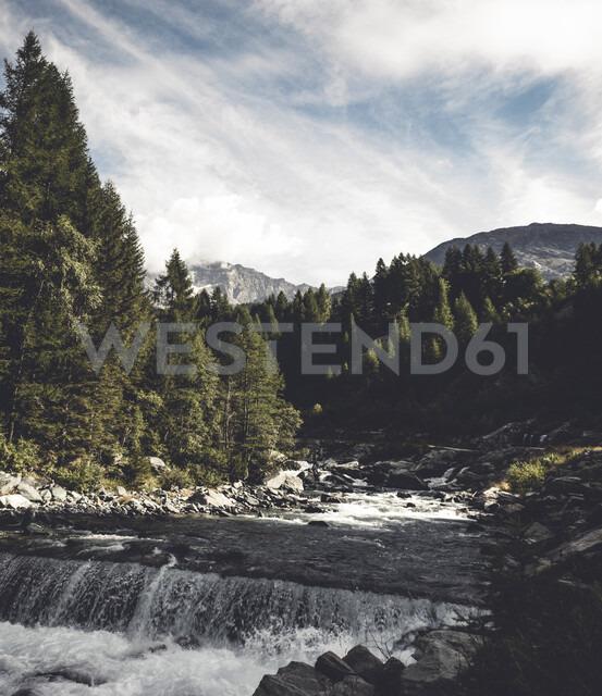 Italy, Lombardy, Chiesa in Valmalenco, mountain stream Mallero - DWIF00918