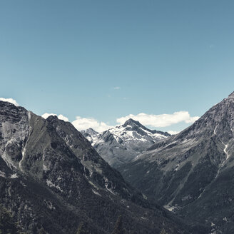Italy, Lombardy, Bernina and Murettopass massif - DWIF00921